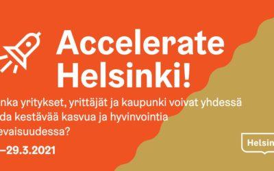 Osallistu ja vaikuta Helsingin yritysympäristön kehitystyöhön
