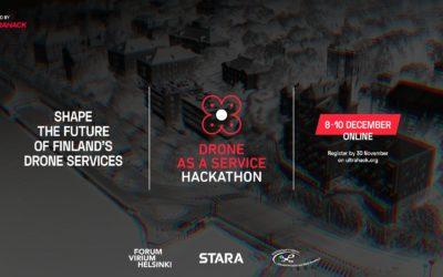 Hae mukaan Drone as a Service Hackathoniin