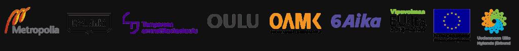 Hanketoteuttajien logot
