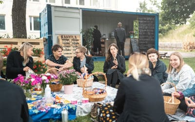 Helsinki tarjosi nuorille tilaisuuden kokeilla kesäyrittäjyyttä