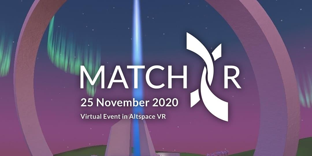 Event banner of MatchXR 2020