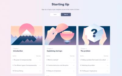 Starting Up on kurssi startup-yrittäjyydestä