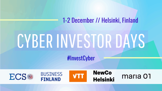 Banner of the Cyber Investor Days