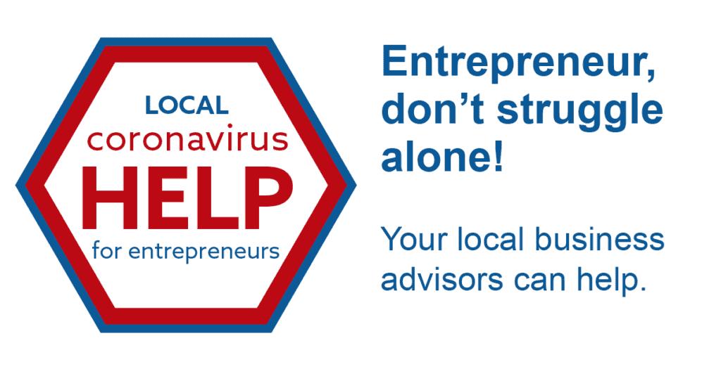 Banner of Local coronavirus help for entrepreneurs