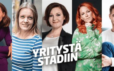 Yritystä Stadiin valloittaa toukokuussa – olemme tavattavissa Yritystreffeillä